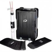 Das Standardpaket der Case & Counter beinhaltet die Transportbox selbst, Einlegeböden, eine Bodenblende sowie Zubehör zur Fixierung und zum Schutz der Thekenplatte.