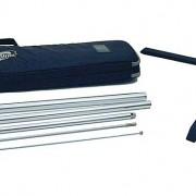 Paket Kreuzfuß - Das Paket enthält, Lieferverpackung, Transporttasche mit Tragegriff, Zusammenklappbarer Kreuzfuß , Flaggenmast.