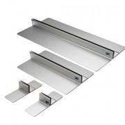 Diskrete Aluminiumkonstruktion. Elegant und leicht sauber zu halten.
