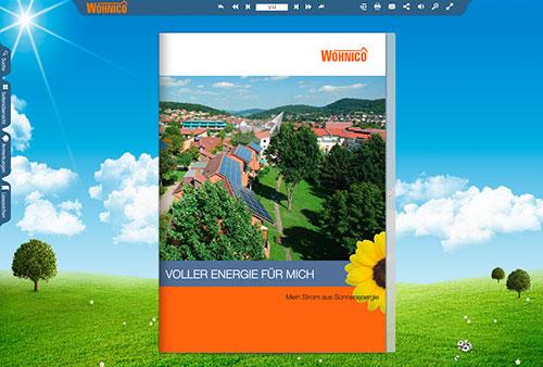 E-Paper einer Imagebroschüre