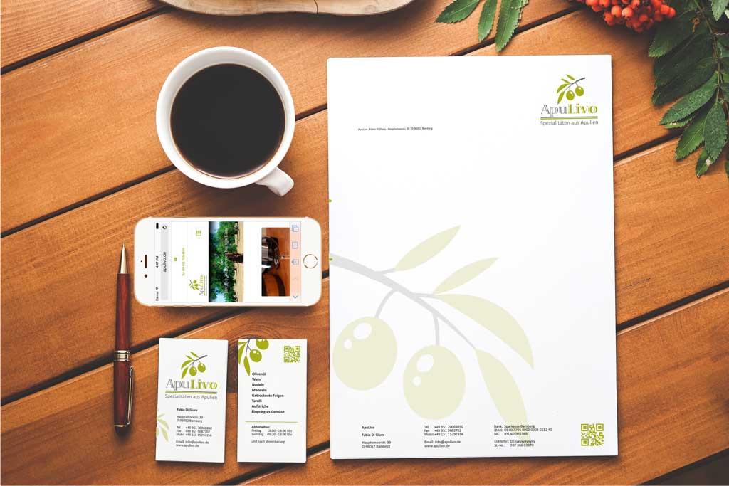 Corporate Design und Webdesign für ApuLivo